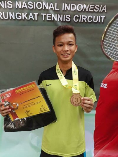Dimitri, 3rd place of the Boys' Singles U-18